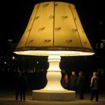 Огромная говорящая лампа из Швеции