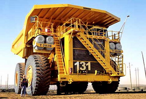 самая большая машина в мире