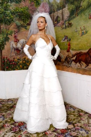 самые дорогие свадебные платья фото