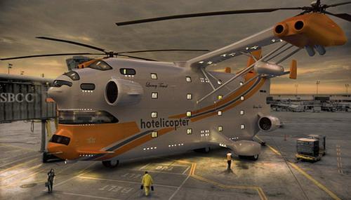 самый большой вертолет в мире
