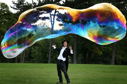 самый большой пузырь