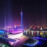 Высота телебашни в Гуанчжоу