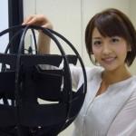 Сферическая форма нового японского робота