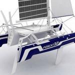Большая лодка Foscat 32 обладает солнечными панелями
