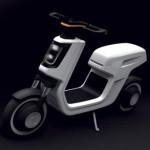 Большой скутер Volkswagen e-Scooter