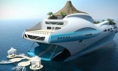 большие яхты