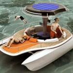 Морские лодки катамараны Solar and Human