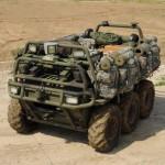 Военный робот машина SMSS