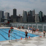 Бассейн остров в Нью Йорке