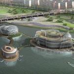 Большие сооружения на реке Ханган