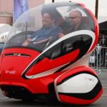 Двуколесный автомобиль GM EN-V