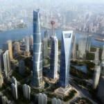 Небоскреб Shanghai Tower (632 м)