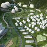 Бетонные сооружения в Mentougou eco valley будут экологичны