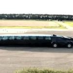 Автобус Superbus разоняется до в 250 км/ч