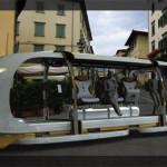 Футуристический городской транспорт