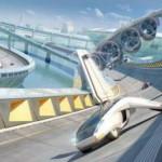 Концептуальная идея транспорта будущего от Дэвида Хуана