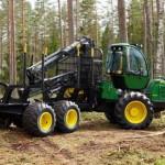 Лесозаготовительная машина John Deere H414