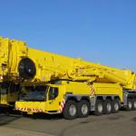 Огромный кран Liebherr LTM 11200-9.1