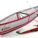 Adhoc — легкая лодка в рюкзаке