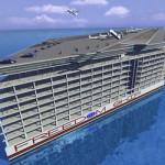 Корабль город Freedom Ship