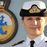 Капитаном корабля ВМС Британии стала женщина