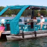 Электрическая лодка The Loon