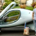Трехколесный автомобиль Aptera