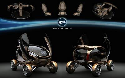Круглая машина EGGO
