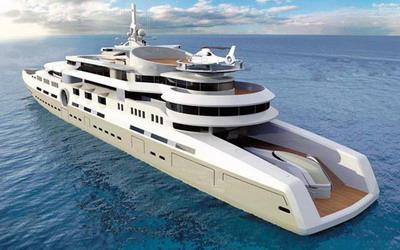 Eclipse - самая большая яхта в мире