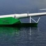WindFlip — корабль для установки ветрогенераторов в море