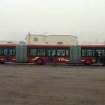 В Китае построен самый большой автобус в мире