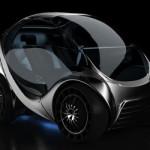 Складной автомобиль Hiriko Citycar EV