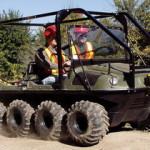 Канадские колёсные вездеходы CENTAUR и ARGO