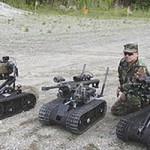 Американский боевой робот Swords