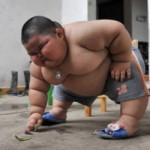 Лу Хао — самый большой ребенок в мире