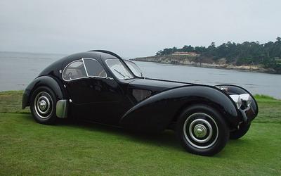 Bugatti Type 57SC Atlantic 1936 - самая дорогая машина в мире