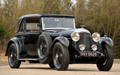 Bentley 4-liter 1931 года - самая дорогая машина в мире