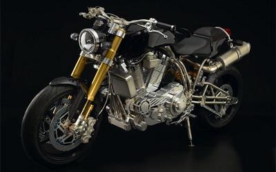 Ecosse Heretic Titanium - самый дорогой мотоцикл в мире