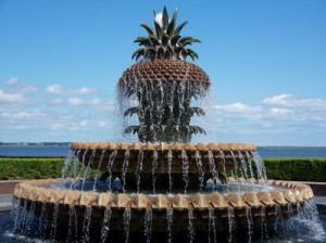 Pineapple fountain — самый красивый фонтан в