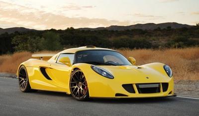 Hennessey Venom GT - самая быстрая машина в мире