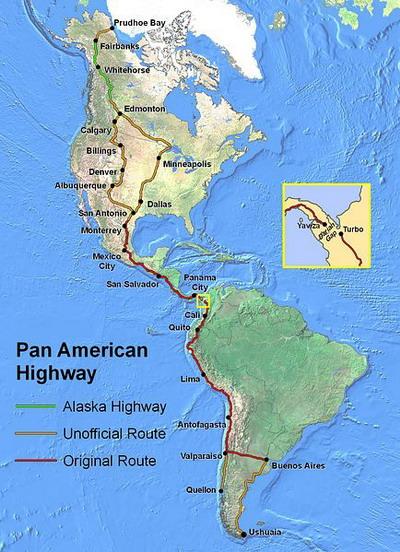 самая длинная дорога в мире