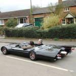 Flatmobile — самая низкая машина в мире
