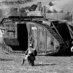 Самый первый танк в мире