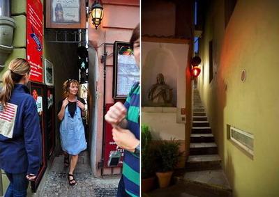 Винарна - самая узкая улица в мире