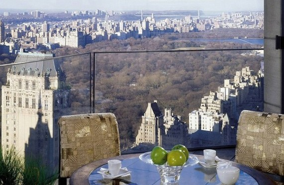 Ty Warner Penthouse, Four Seasons - самый дорогой отель в Нью-Йорк