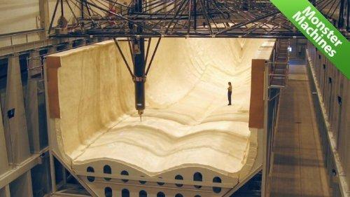 HSM-Modal - самый большой станок в мире