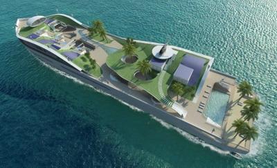 Корабль остров Island (E) Motion