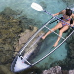 Прозрачная лодка каноэ Clear Canoes