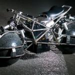 Мотоцикл Spherical Drive System с шарообразными колесами