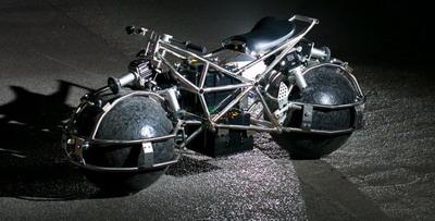 Необычный мотоцикл Spherical Drive System